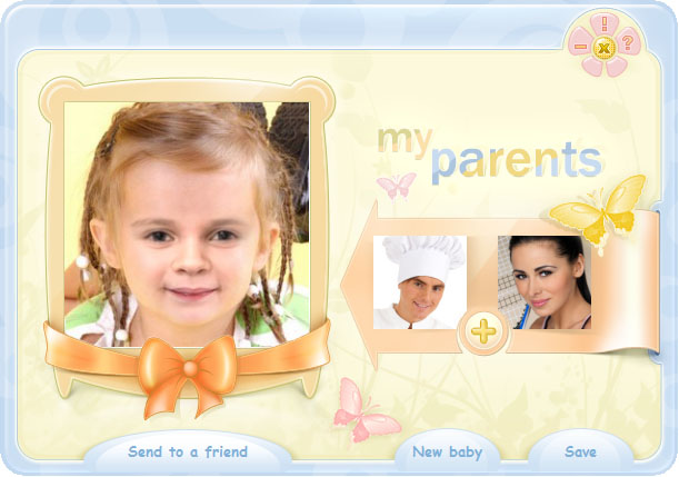make a baby with pictures free generator