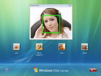 Luxand Blink! Face Recognition Screen shot