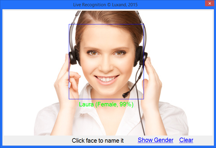 Face recognition and identification SDK