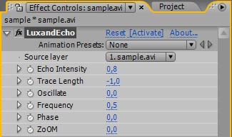 Add an echo effect to your video in Adobe After Effects well known Screen Shot